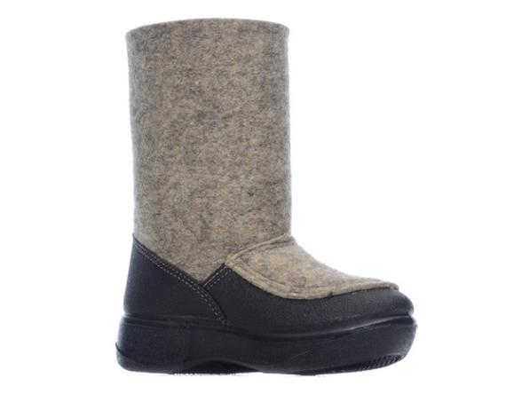 Валенки мужские ШК Обувь WB-14253-1 серые 36 RU