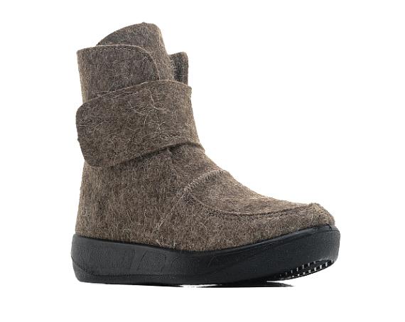 Валенки мужские ШК Обувь WB-14253 серые 41 RU