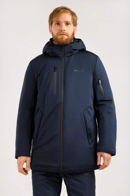 Зимняя куртка мужская Finn Flare W19-42017 темно-синяя XXL