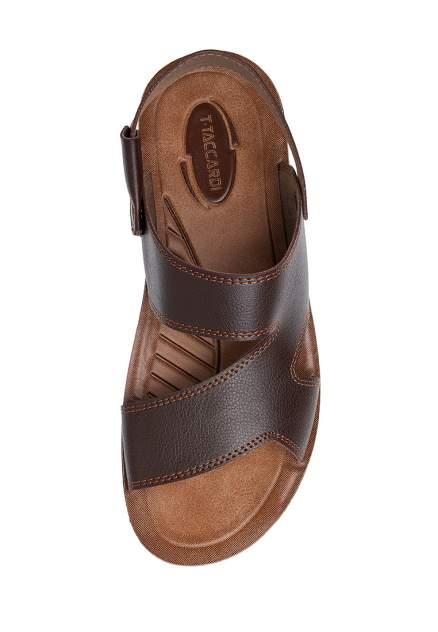 Сандалии мужские T.Taccardi M-613317 коричневые 45 RU