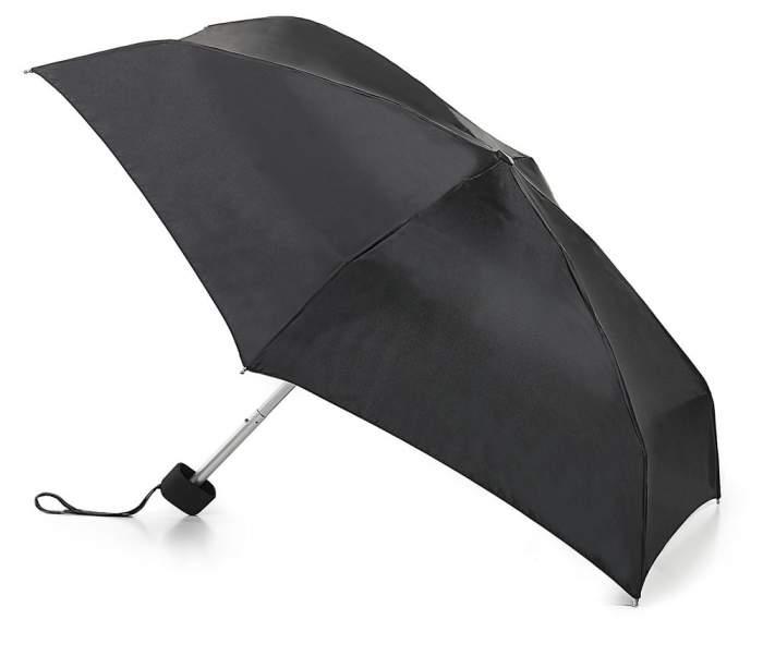 Зонт складной женский механический Fulton L500-01 черный