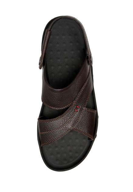 Сандалии мужские Alessio Nesca TD01210 коричневые 45 RU