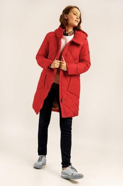 Пуховик женский Finn Flare A19-32005 красный XXL