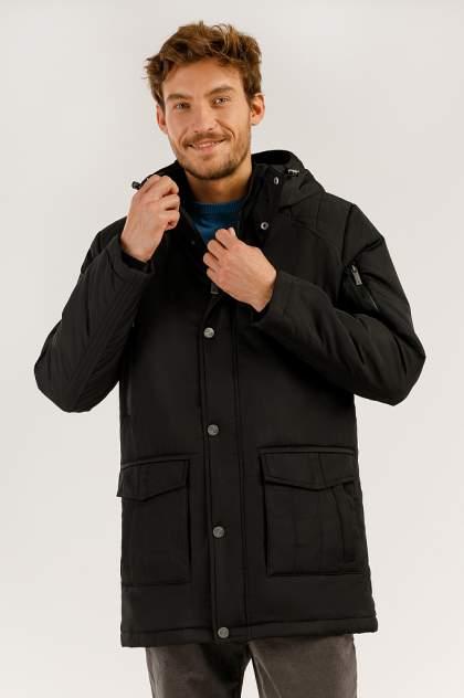 Зимняя куртка мужская Finn Flare A19-22008 черная S