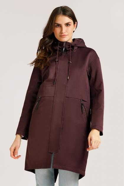 Пальто женское Finn Flare B20-12081 бордовое L