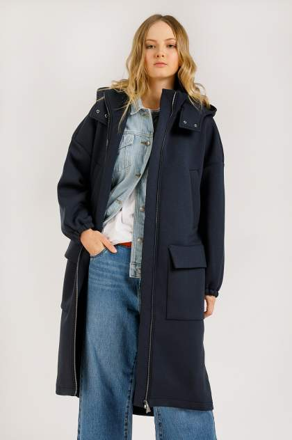 Женское пальто Finn Flare B20-32060, синий