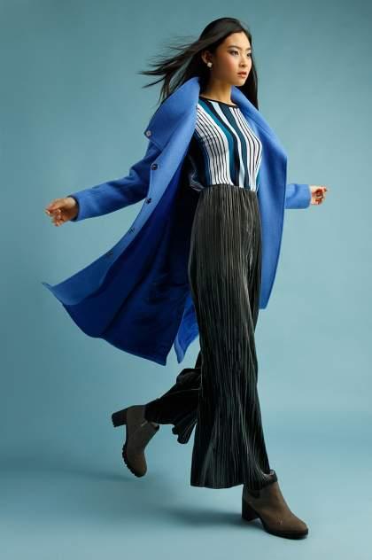 Пальто женское Finn Flare B20-11017 голубое XL