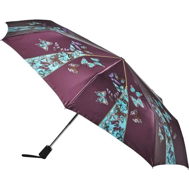 Зонт складной женский автоматический Henry Backer Q2101 фиолетовый