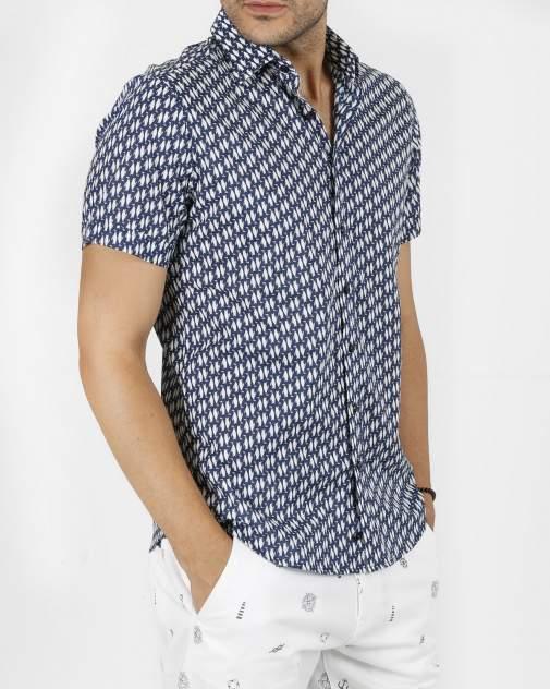 Рубашка мужская Enrico beleno GD30300123 синяя XL