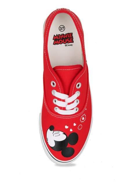 Кеды женские Minnie Mouse ZY20SS-122 красные 40 RU