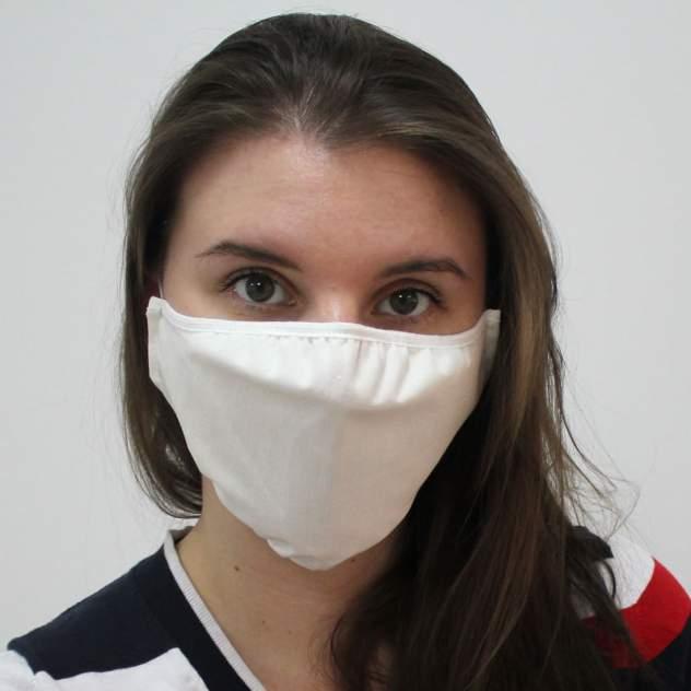 Многоразовая защитная маска EcoSapiens ES-602 белая 1 шт.
