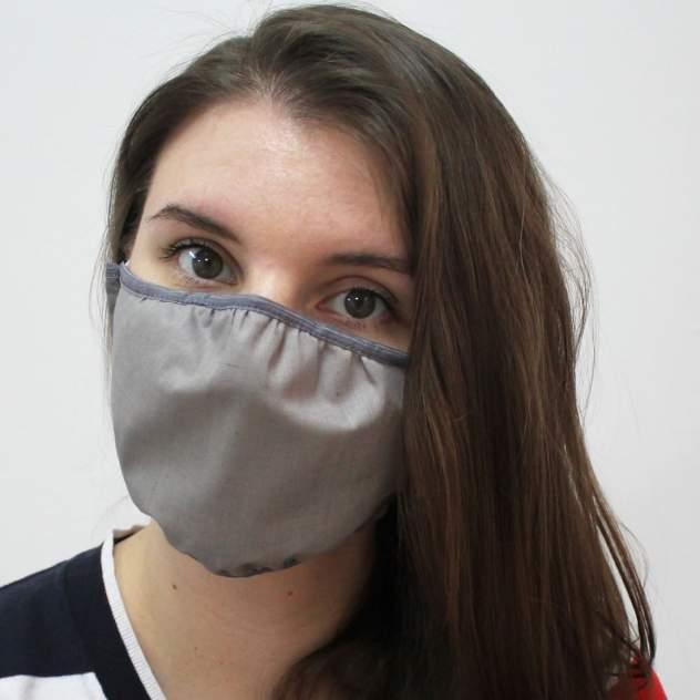 Многоразовая защитная маска EcoSapiens ES-602 серая 1 шт.
