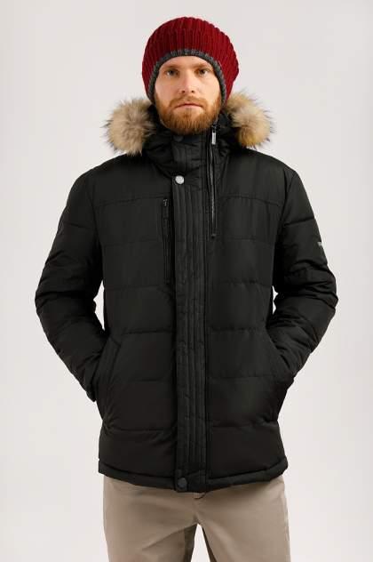 Зимняя куртка мужская Finn Flare W19-21000 черная 4XL