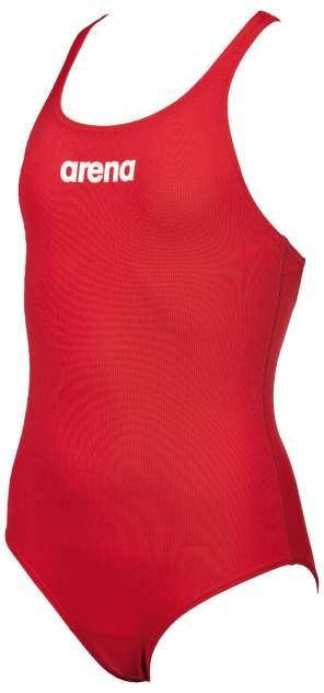 Купальник спортивный Arena Solid Swim Pro Jr Red/White, р. 164