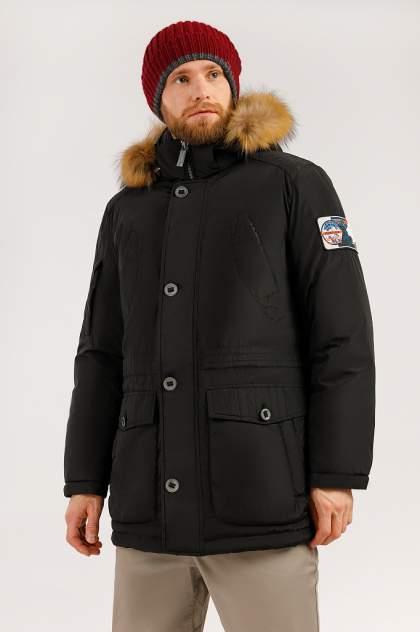 Зимняя куртка мужская Finn Flare W19-22010 черная XXL