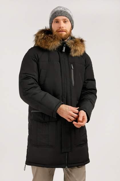 Пуховик мужской Finn Flare W19-22003 черный XXL