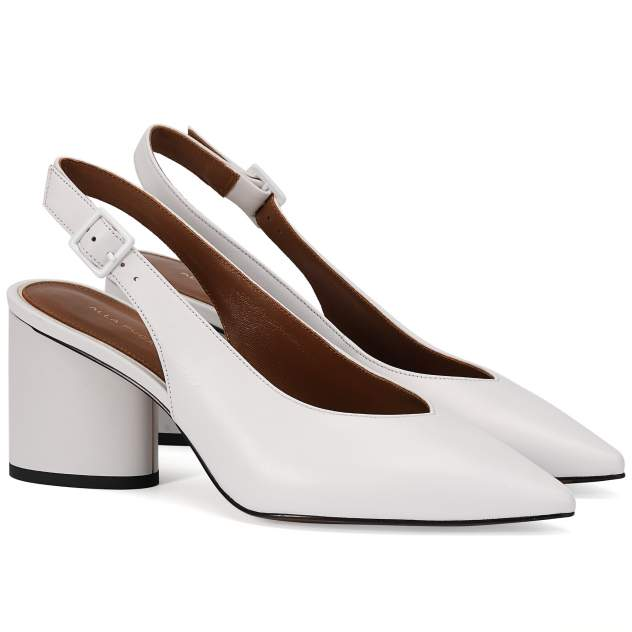 Туфли женские ALLA PUGACHOVA AP1930-01-20L белые 36 RU