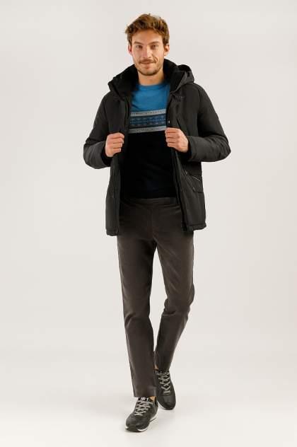 Зимняя куртка мужская Finn Flare A19-42006 черная 3XL