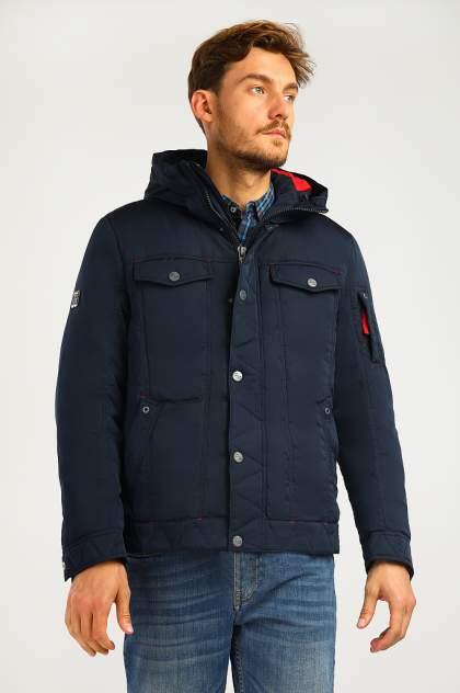 Зимняя куртка мужская Finn Flare A19-22009F темно-синяя S