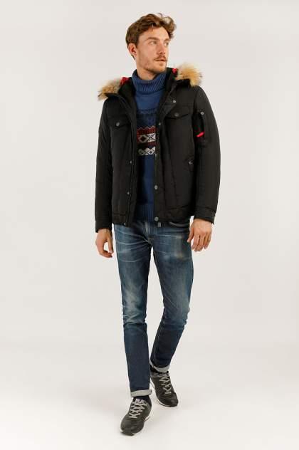 Зимняя куртка мужская Finn Flare A19-22009 черная XXL