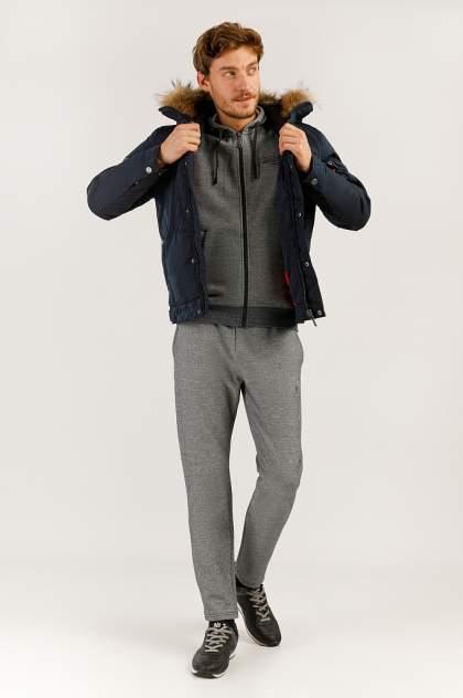 Зимняя куртка мужская Finn Flare A19-22009 темно-синяя 3XL
