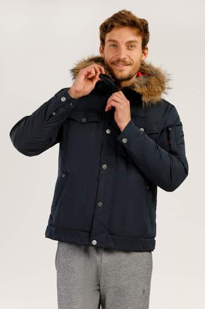 Зимняя куртка мужская Finn Flare A19-22009 темно-синяя L