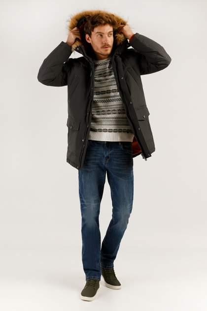 Зимняя куртка мужская Finn Flare A19-22007 темно-серая S