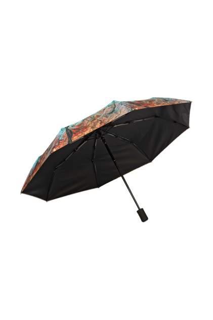 Зонт складной женский автоматический Mellizos U10- 1L D 778-1 синий/оранжевый
