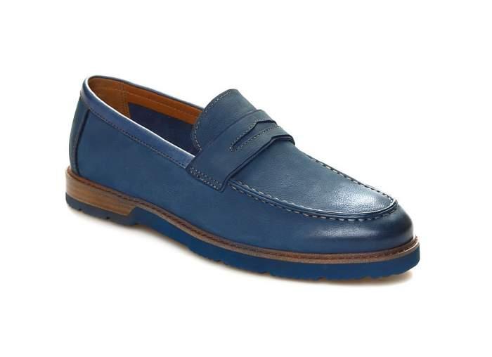 Лоферы мужские El Tempo CG192_P1361-28 синие 41 EU