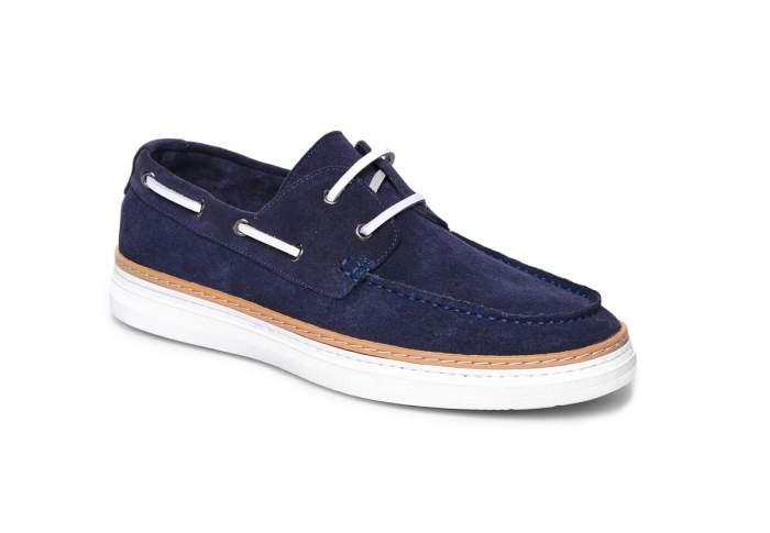 Топсайдеры мужские El Tempo CRR26_0302A-1-X3 синие 45 EU