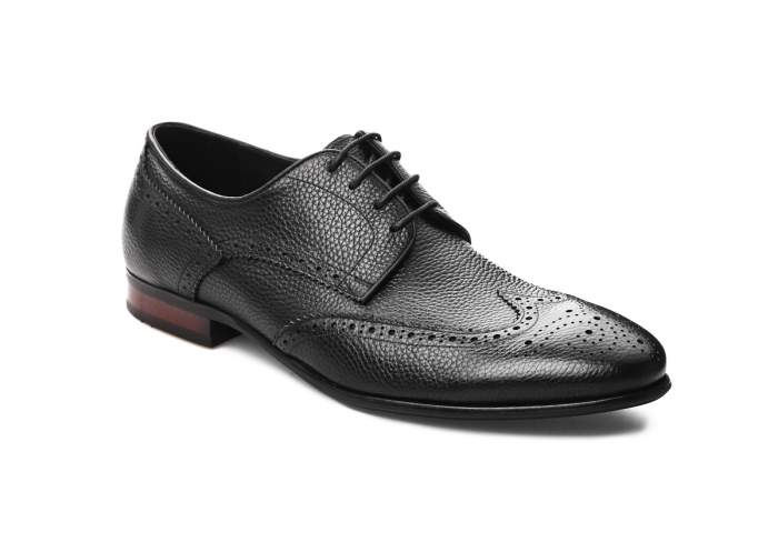 Туфли мужские El Tempo CVD7_A0073-201 черные 39 EU