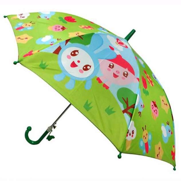 Зонт-трость Играем Вместе диаметр 45 см со свистком Малышарики