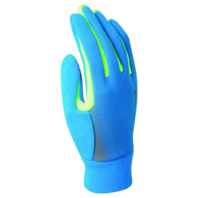 Перчатки для бега, NIKE MEN'S TECH THERMAL RUNNING GLOVES M BLUE HERO/VOLT, размер M