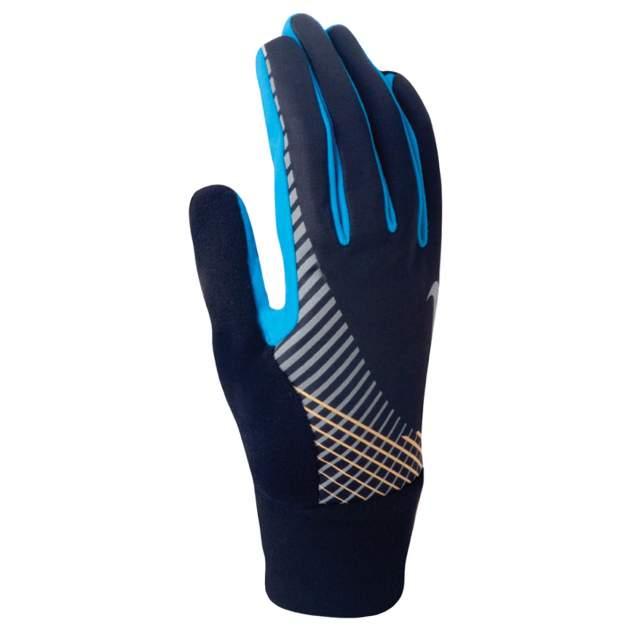 Мужские перчатки Nike N.RG.31.048.SL, черный, синий, оранжевый