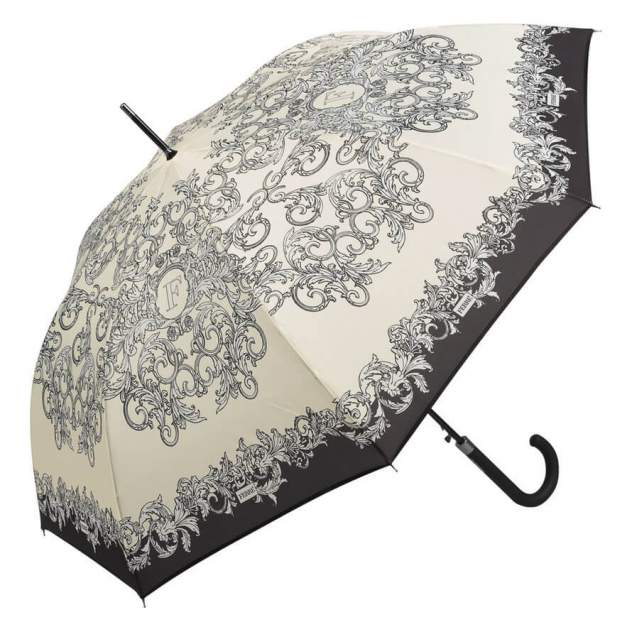 Зонт-трость женский полуавтоматический FERRE MILANO 300-LA бежевый