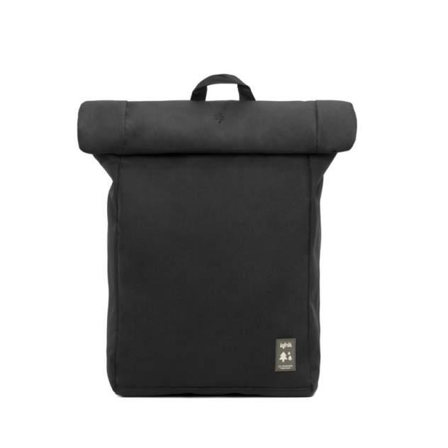 Рюкзак унисекс Lefrik ROLLBACKPACK черный