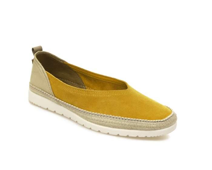 Топсайдеры женские El Tempo EVE6_0403910001, желтый
