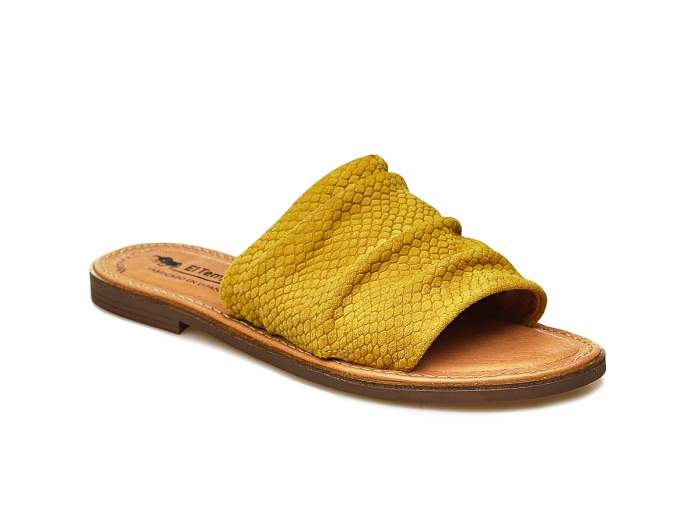Шлепанцы El Tempo EWK3_77191, желтый