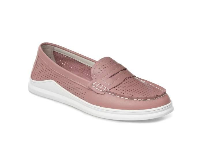 Топсайдеры женские El Tempo FL33_GL8117-2, розовый