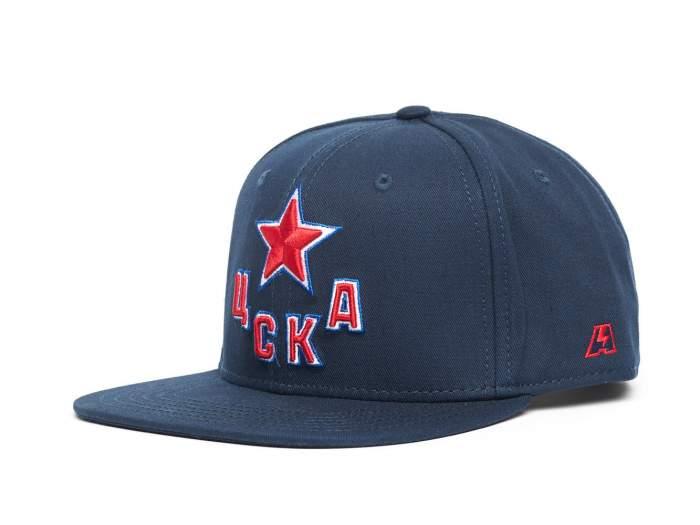 Бейсболка Atributika&Club ЦСКА 207187 синяя