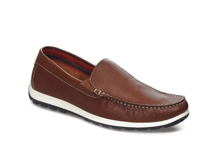 Мокасины мужские El Tempo PP381_7510-002 коричневые 41 EU