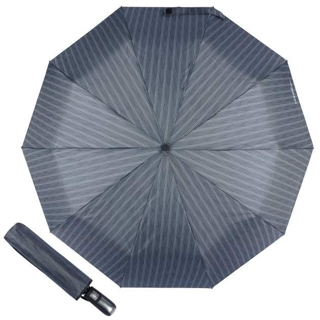 Зонт складной мужской автоматический FERRE MILANO 577-OC серый