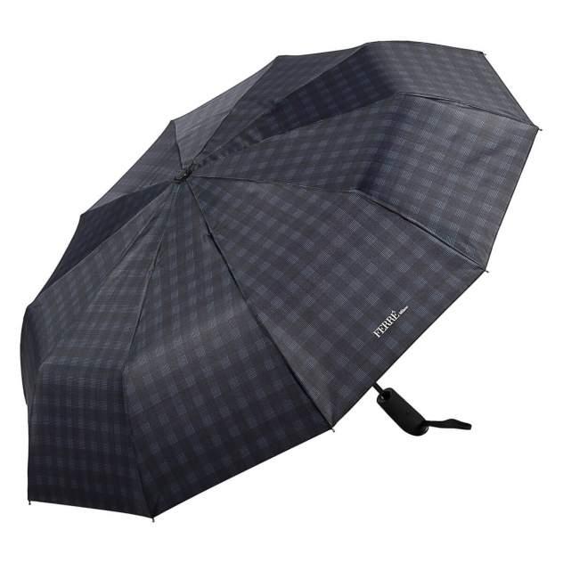 Зонт складной мужской автоматический FERRE MILANO 577-OC синий