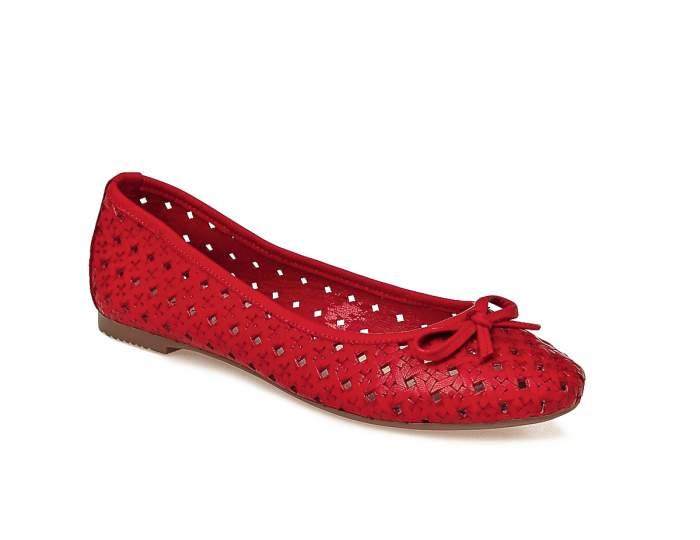 Балетки женские El Tempo TGL2_388-6037 красные 37 EU