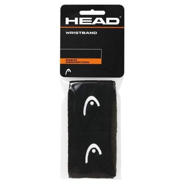 """Напульсники Head 2,5"""" , -, черный"""
