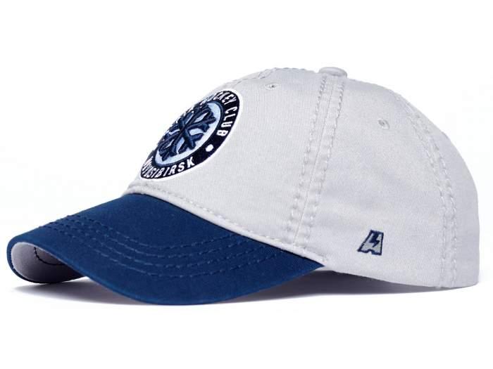 Бейсболка Atributika&Club Сибирь 10845 синяя/белая