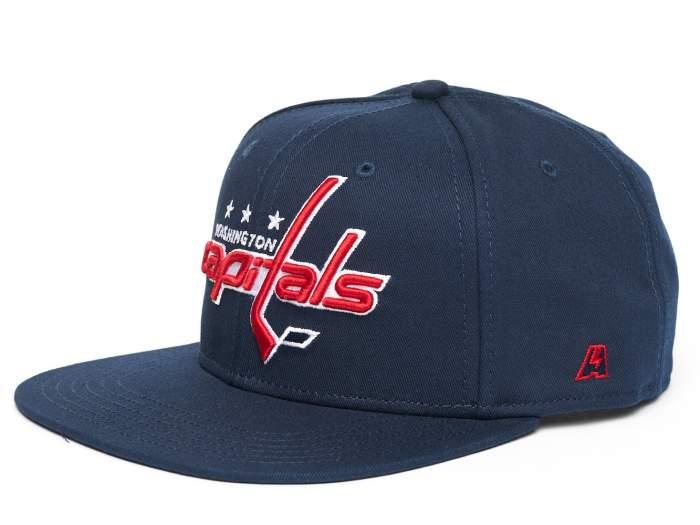Бейсболка Atributika&Club Вашингтон Кэпиталз 31079 синяя