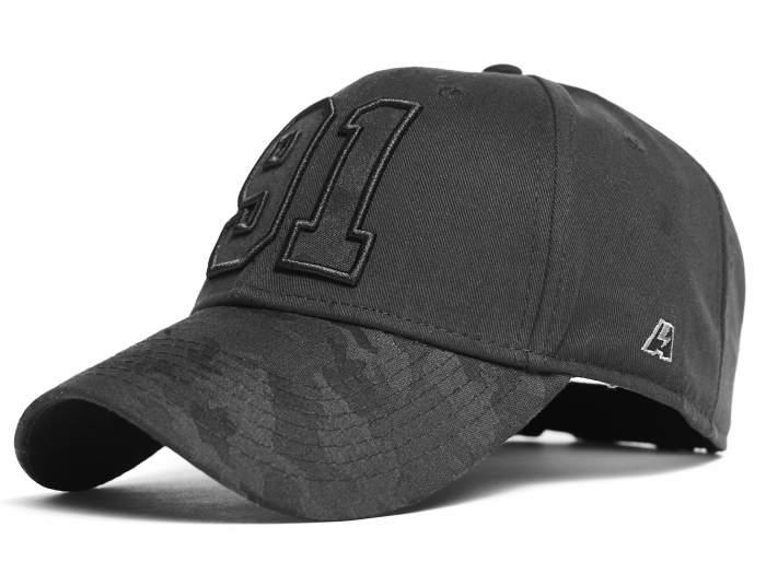 Бейсболка Atributika&Club 206150, 55-58 см, black