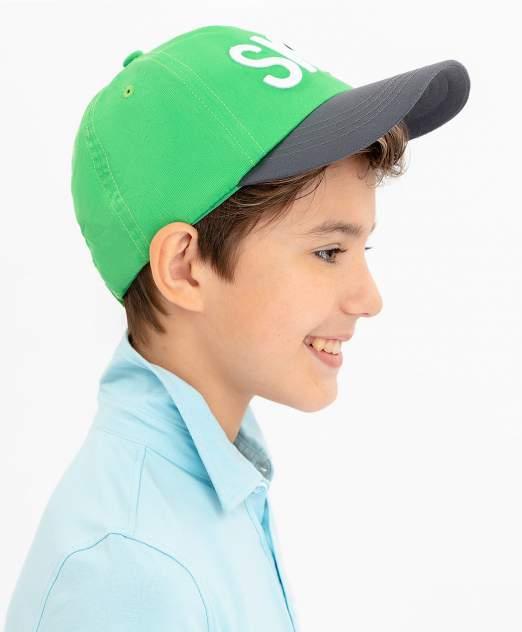 Кепка детская Button Blue, цв. зеленый р-р 50-52