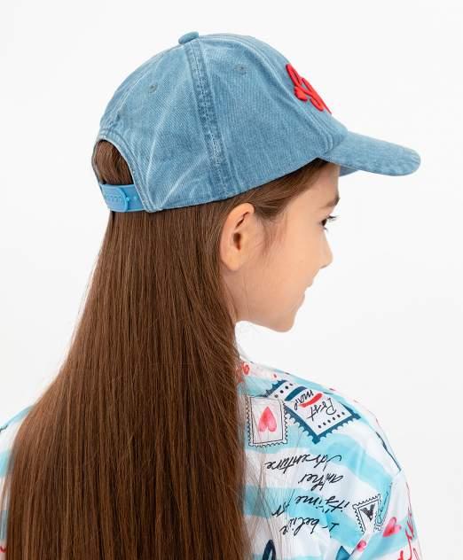 Кепка детская Button Blue, цв. голубой р-р 50-52
